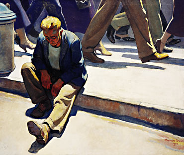 The Forgotten Man Credit: Brigham Young University Museum of Art