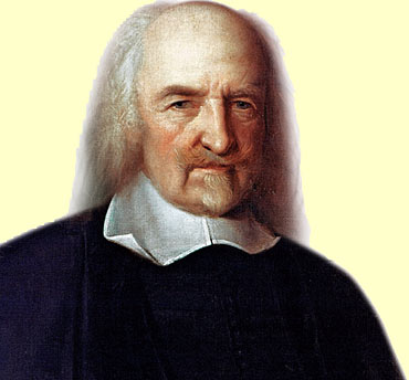 Illustration: Thomas Hobbes Credit: The Granger Collection, New York