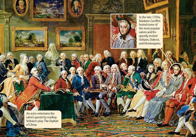 Illustration: Enlightenment society