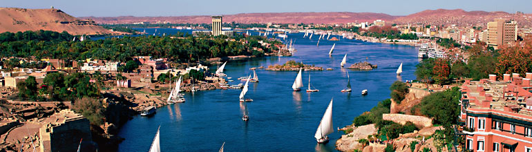 Photograph of the Nile River Credit: cSteve Vidler/eStock Photo