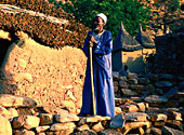 Photograph of Dogon cliff dweller Credit: cDavid Else/Lonely Planet Images